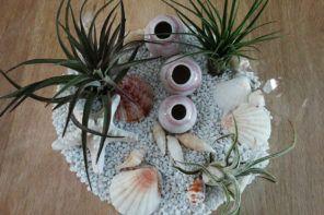 DIY: Dekoracija v stekleni bučki