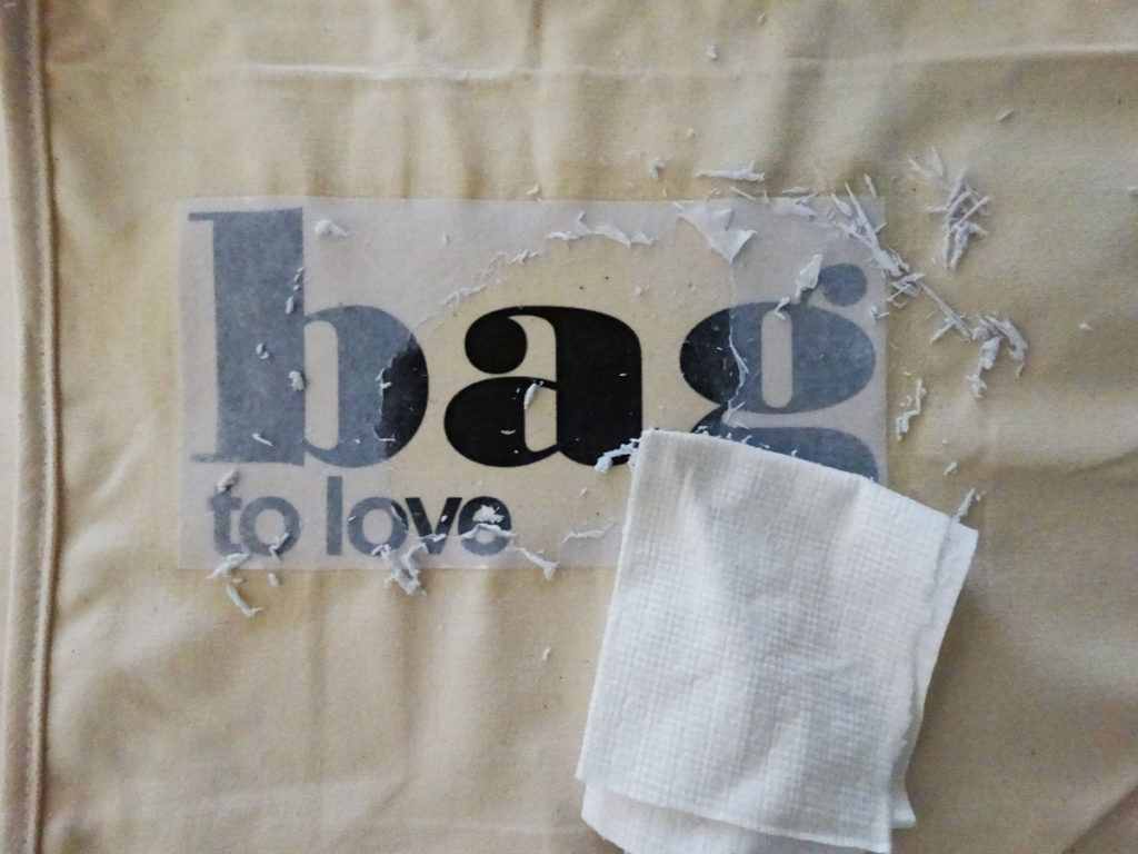 Nakupovalna torba iz blaga s preslikano fotografijo