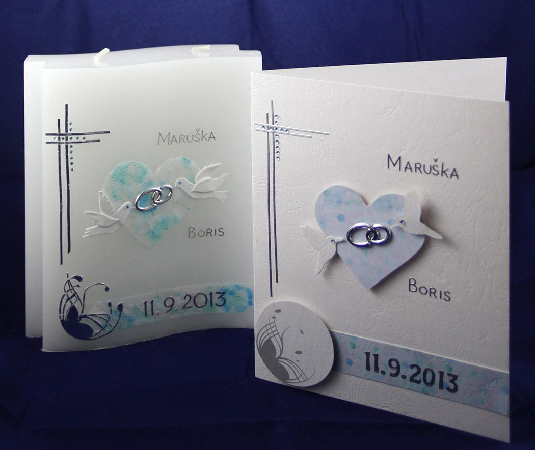 Poročna sveča, Manifest dekoracije