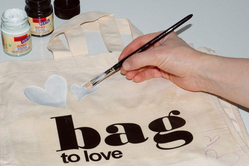 Nakupovalna torba iz blaga s preslikano fotografijo, foto Rayher