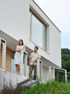 Mateja in Domen Gerkšič: Leseni izdelki sodijo tudi v moderni interier