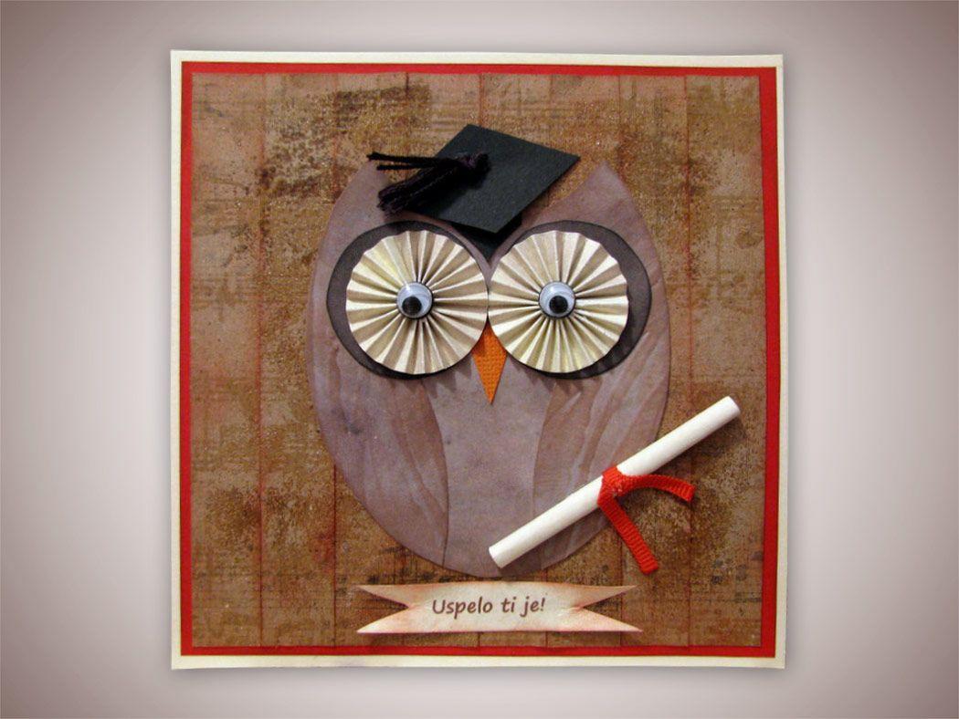 Voščilnica – sova za uspeh, Ustvarja An.La