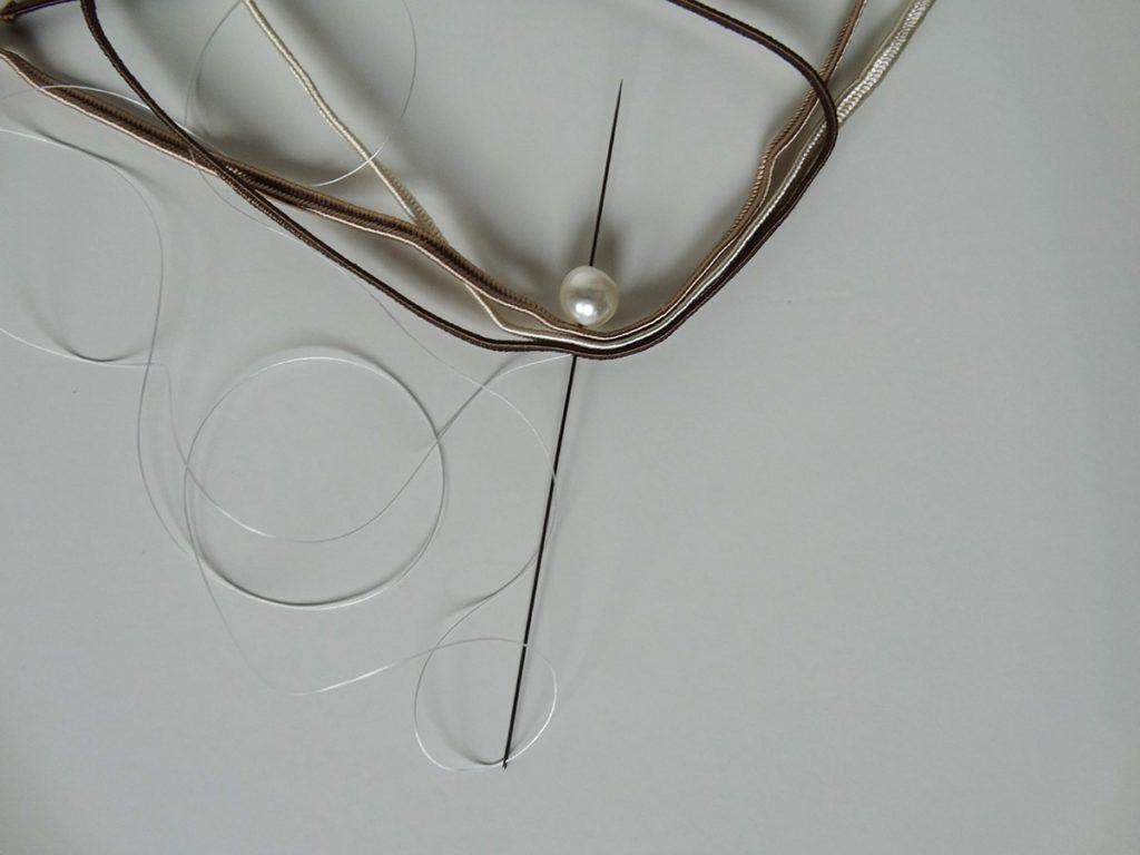 DIY: Broška v tehniki soutache