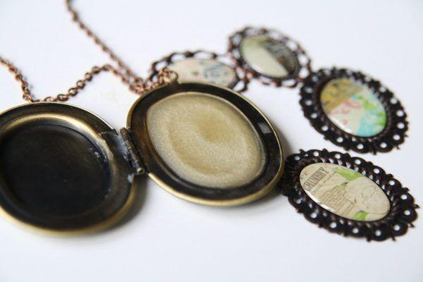DIY: Balzam za ustnice v vintage medaljonu