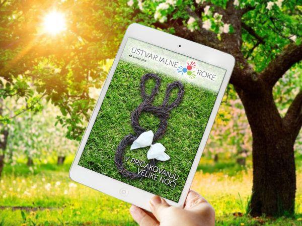 Spomladanska e-revija Ustvarjalne roke