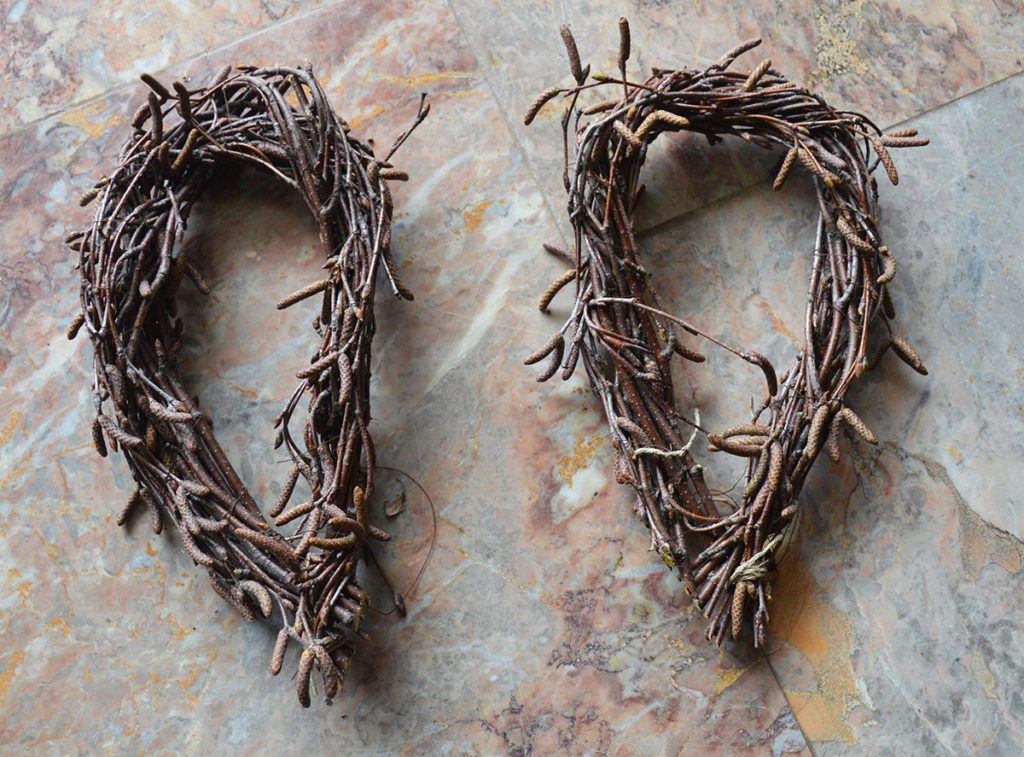 DIY: Venček – velikonočni zajček