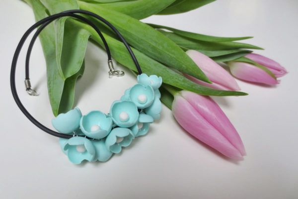 DIY: Pomladna ogrlica