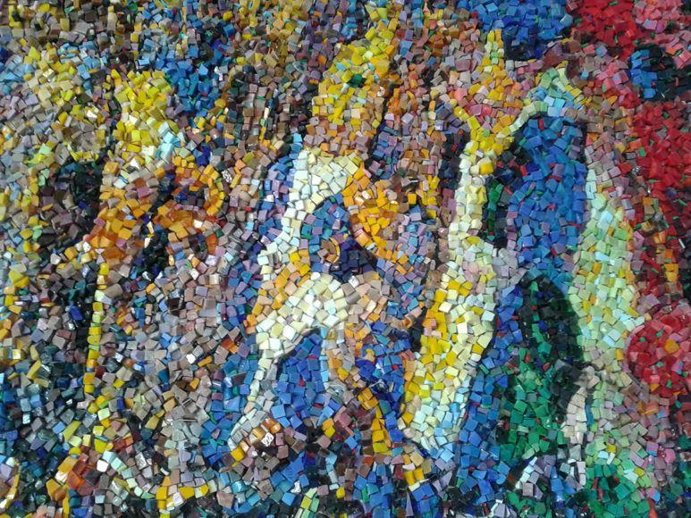 Aljaž Vidrajz: Umetnine tisočerih koščkov