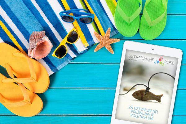 E-revija #4, poletje 2015 – Ideje za ustvarjalno preživljanje poletnih dni