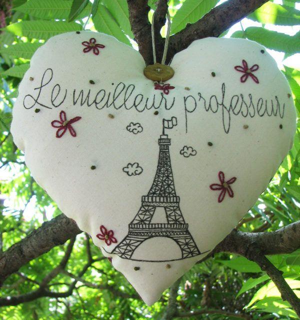 Najboljši učitelj (Le meilleur professeur) – Nataša V. patchwork
