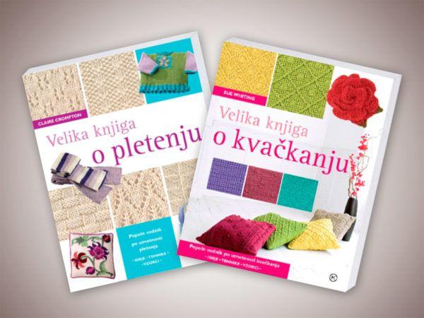 Veliki knjigi o pletenju in kvačkanju