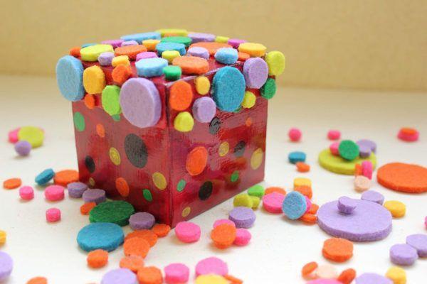 DIY: Darilna škatlica v novi preobleki