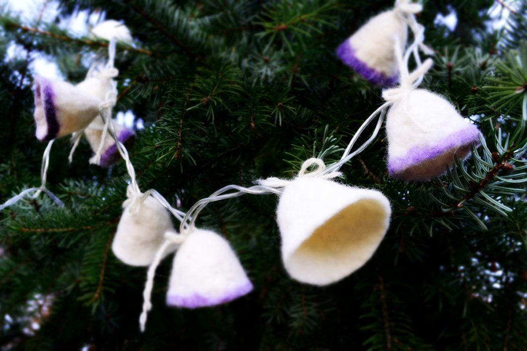 DIY: Polsteni volneni zvončki
