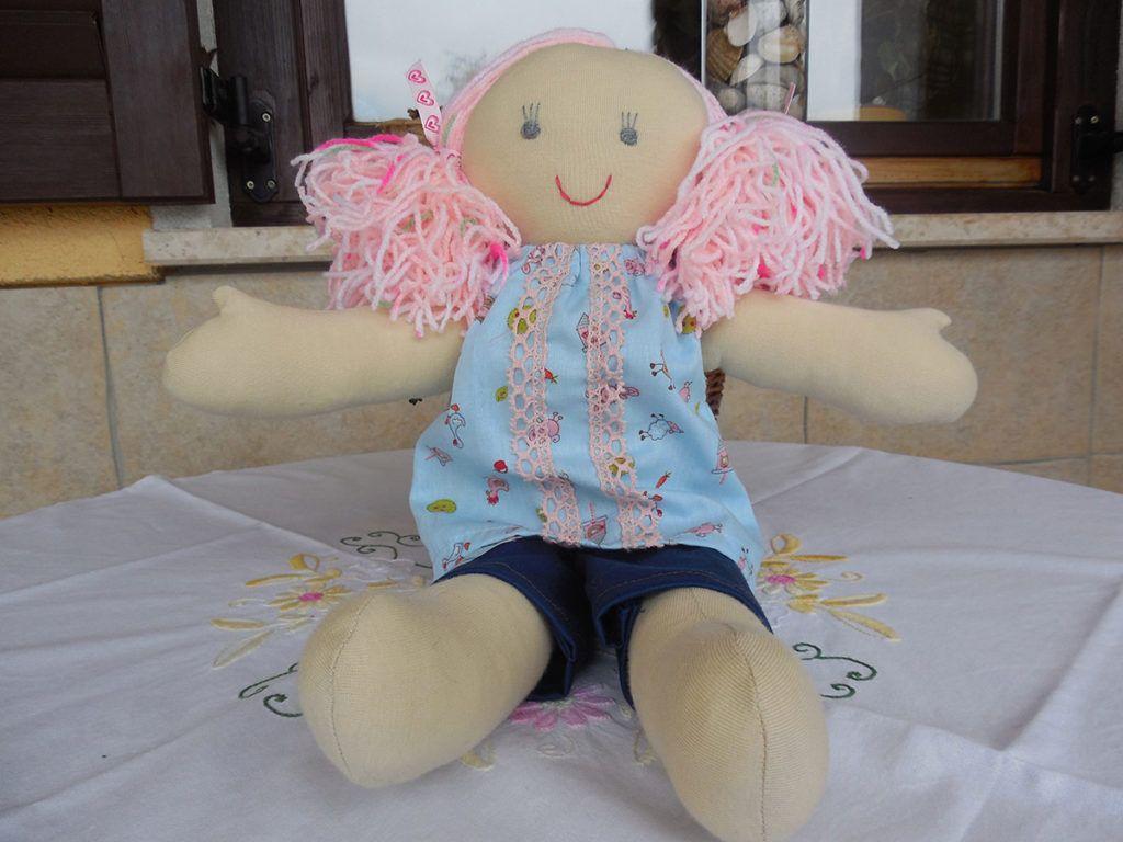 Majda Rozman: Šivanje mehkih punčk ji je zlezlo pod kožo