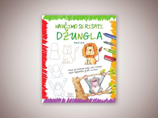 Knjiga: Naučimo se risati – Džungla