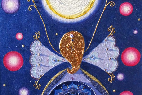 Maja Paliska: Slika energijske angelske mandale
