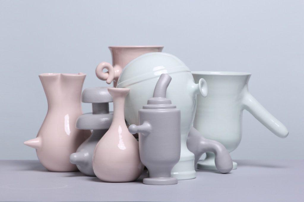 Vsak dan v letu nova ročno izdelana vaza z nosom