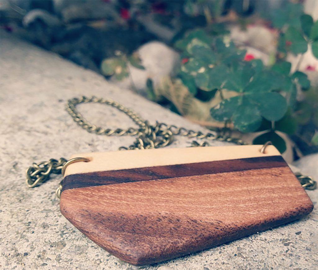 Anja Rakun: Zahajala je v tehnične trgovine, rezultat tega pa so čudoviti izdelki iz lesa