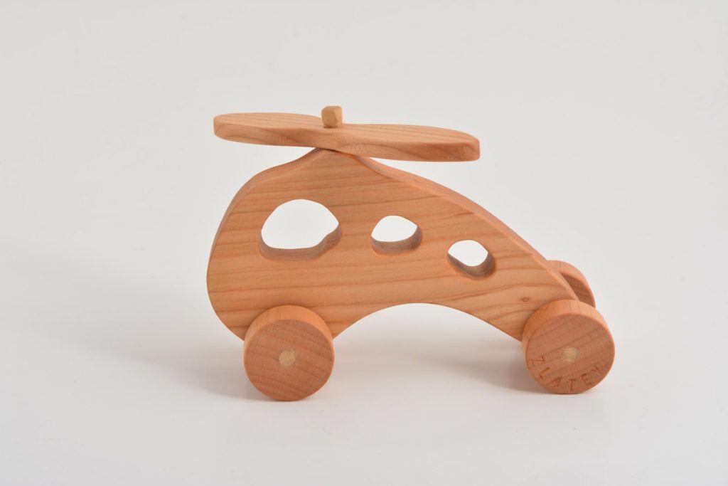 Okolju prijazne lesene igrače