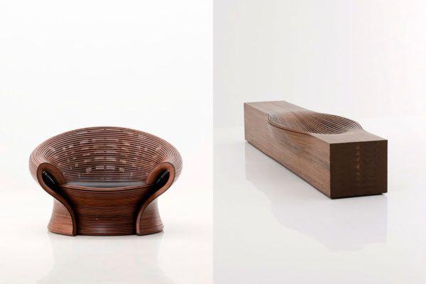 Pohištvo, preoblikovano s pomočjo pare