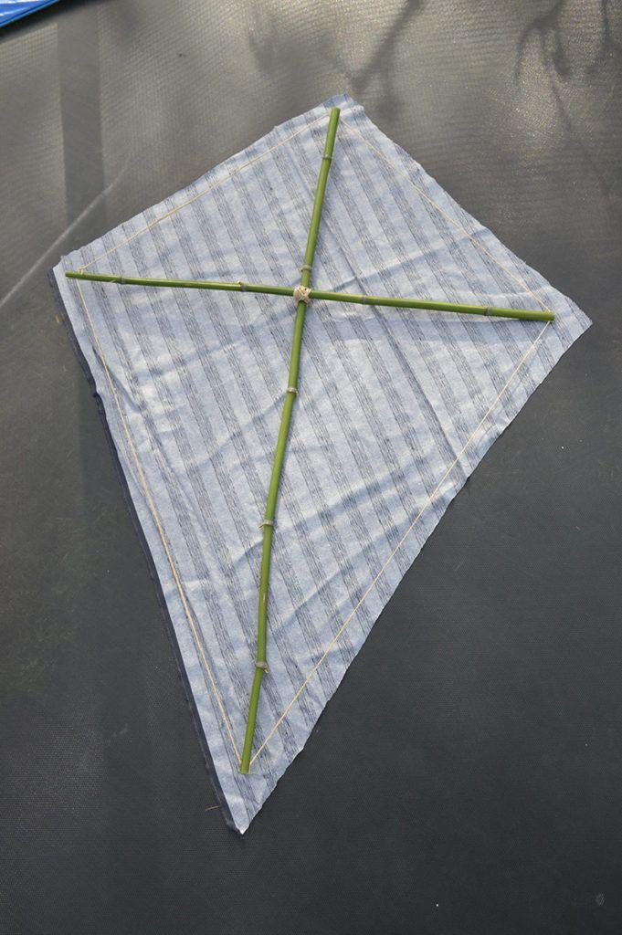 DIY: Zmaj za spuščanje v vetru