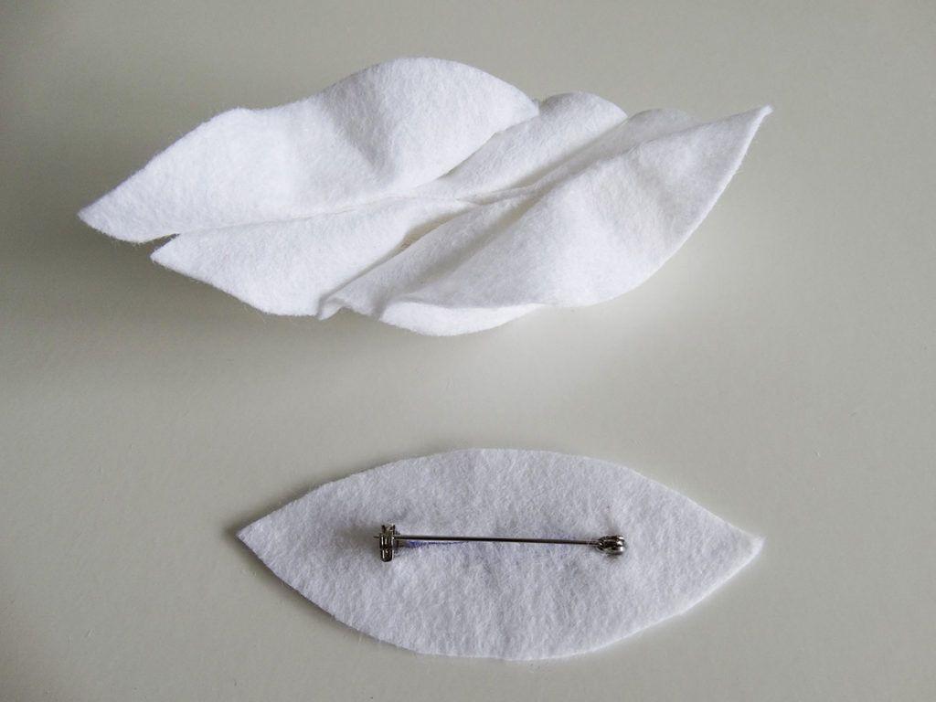 DIY: Broška iz filca