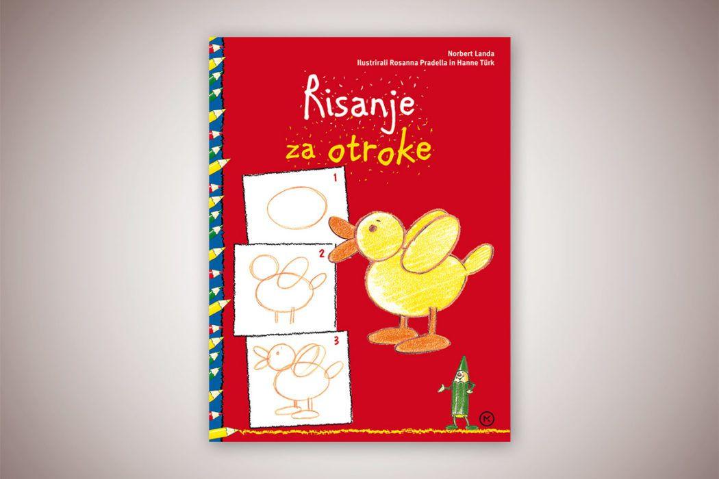 Knjiga: Risanje za otroke