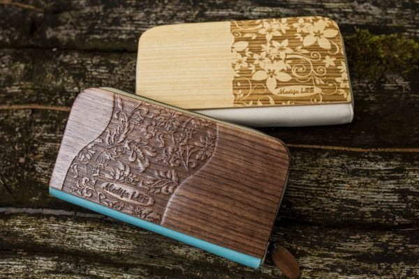 Lesena denarnica je nekaj posebnega