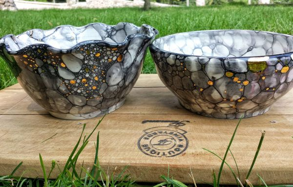 Unikatna keramika z dodatkom zlata