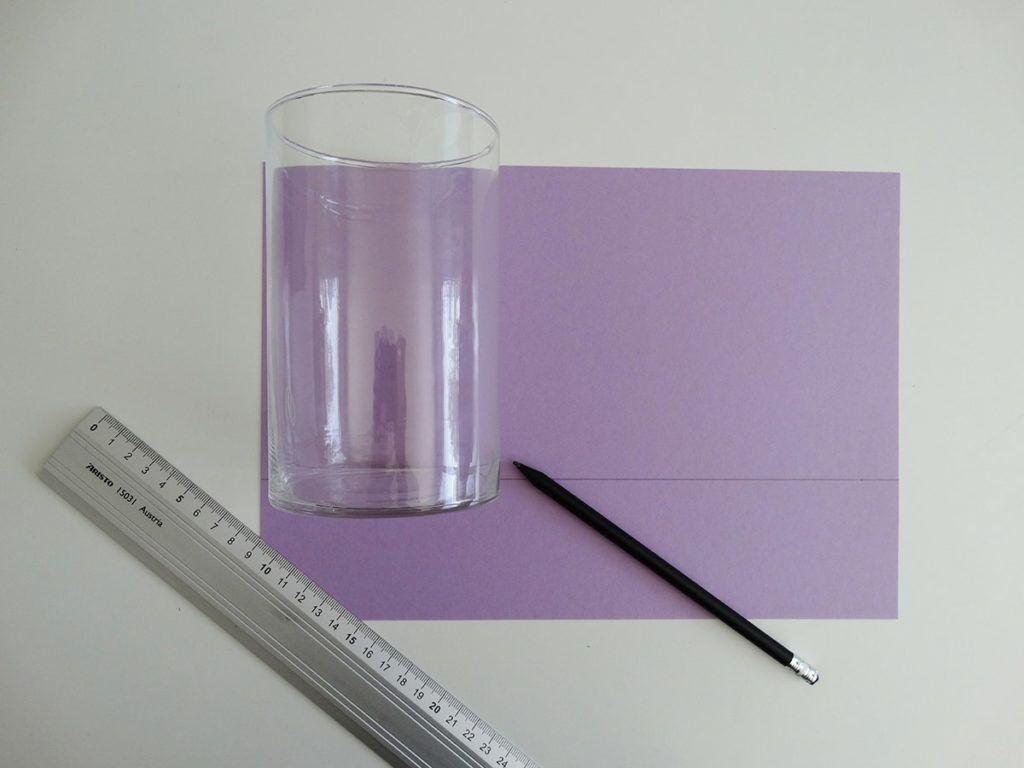 DIY: Mandala na svečniku iz papirja