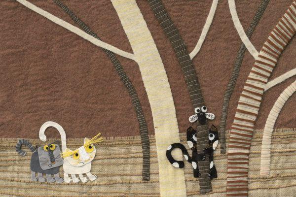 Manica Klenovšek Musil: Tekstilne ilustracije so njena posebnost