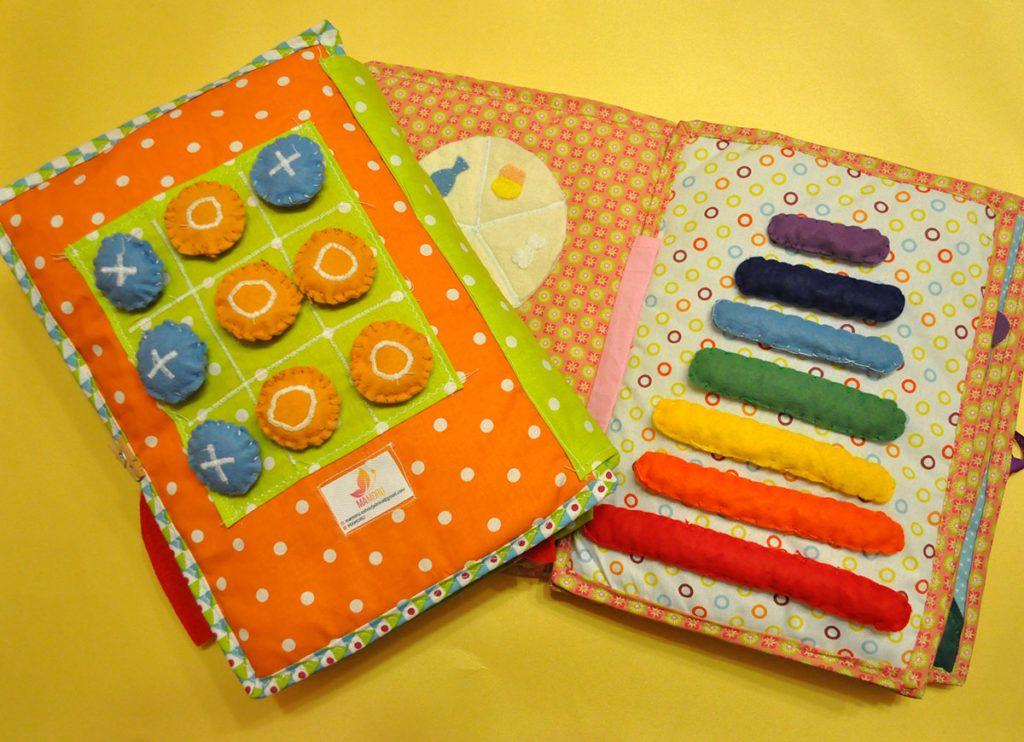 Mateja Morel Rutar: Mehke knjigice za otroke, ki šele spoznavajo svet barv in oblik