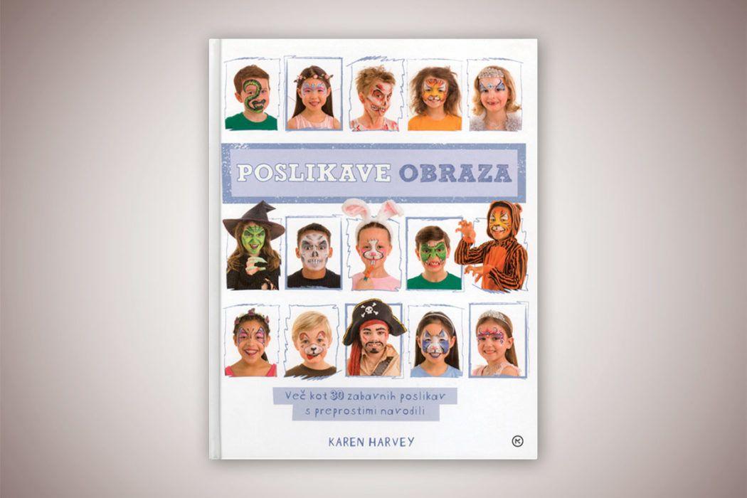Knjiga: Poslikave obraza