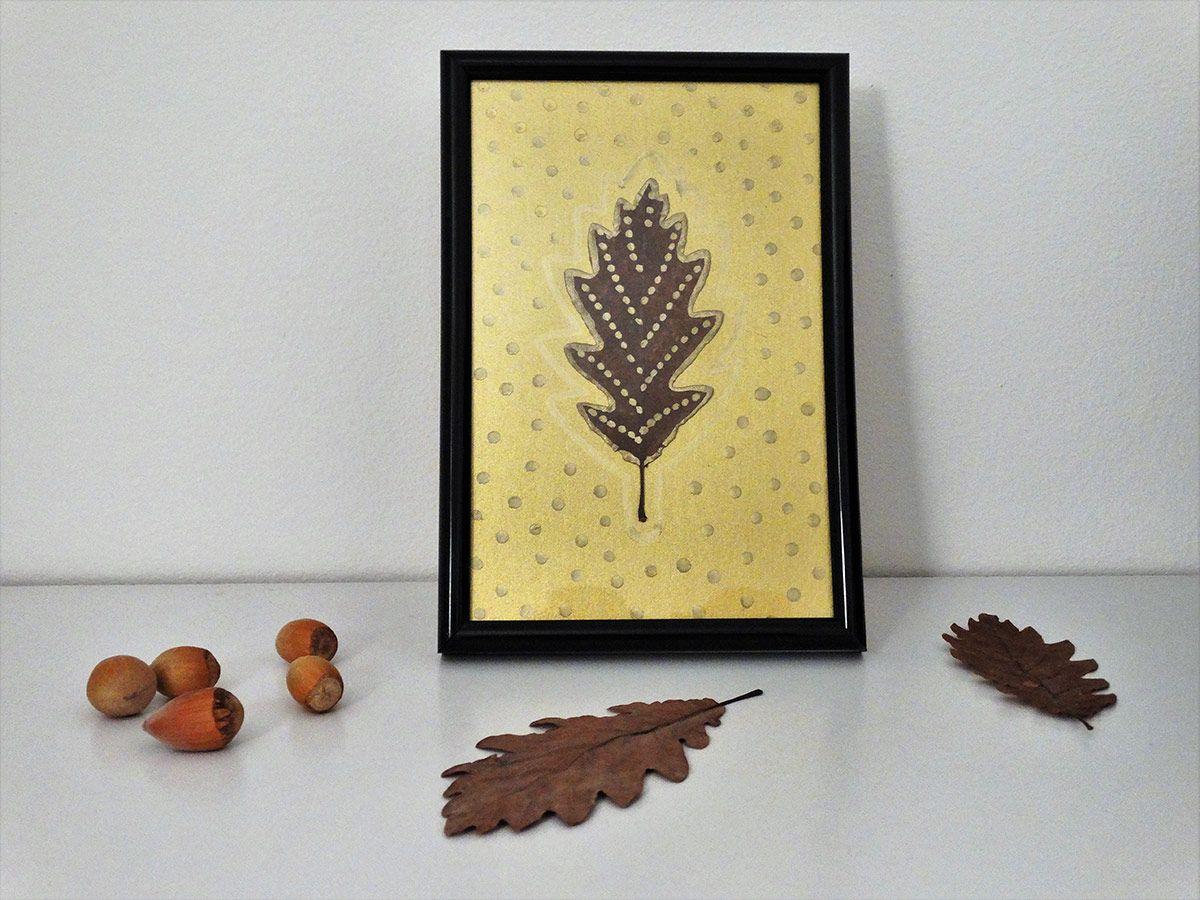 DIY: Moderen jesenski okras