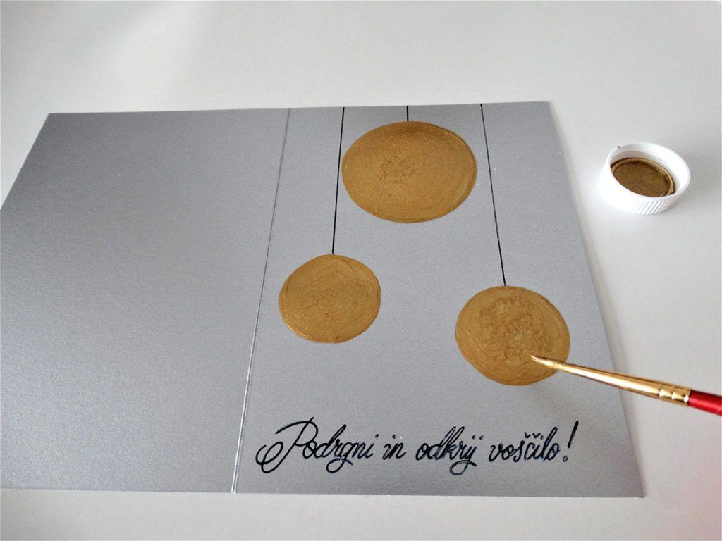 DIY: Voščilnica s skritim sporočilom