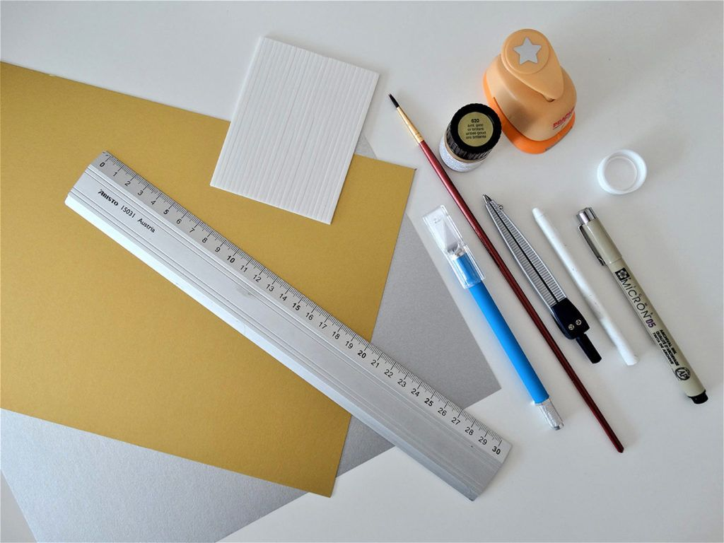 DIY: Voščilnica s skritim sporočilom – potrebščine