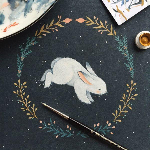 Nina Štajner: Ilustratorka, ki si je vedno želela imeti kreativni poklic
