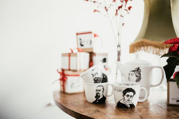 Butične skodelice so popolna družba za kofetkanje