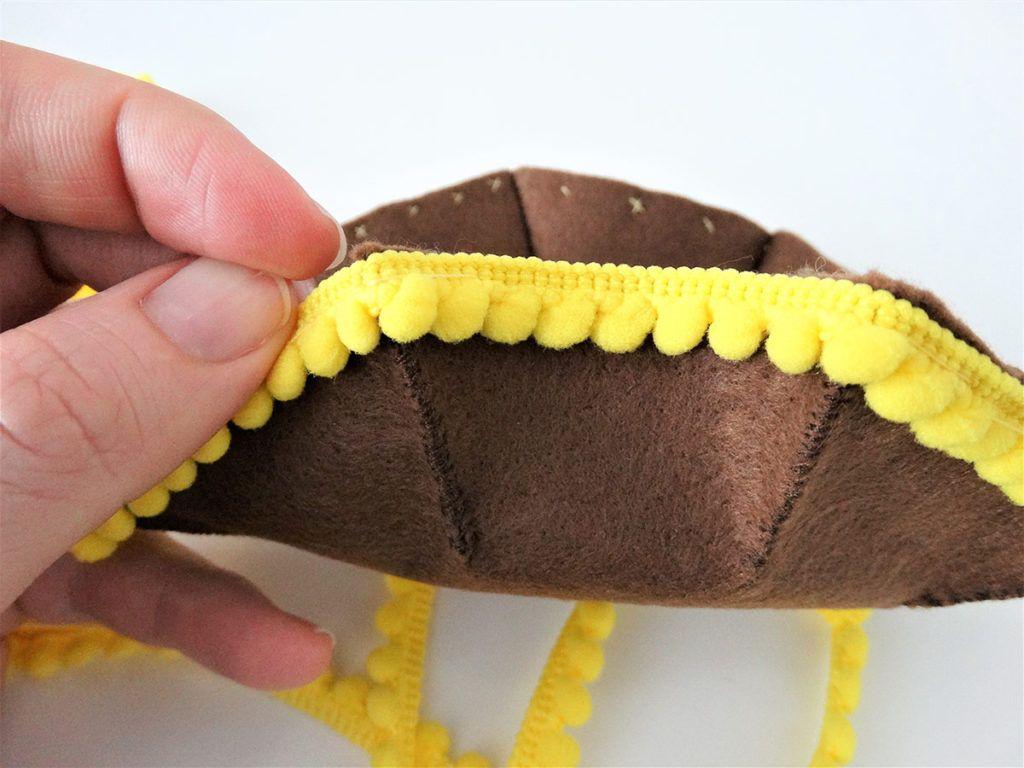 DIY: Košarica iz filca