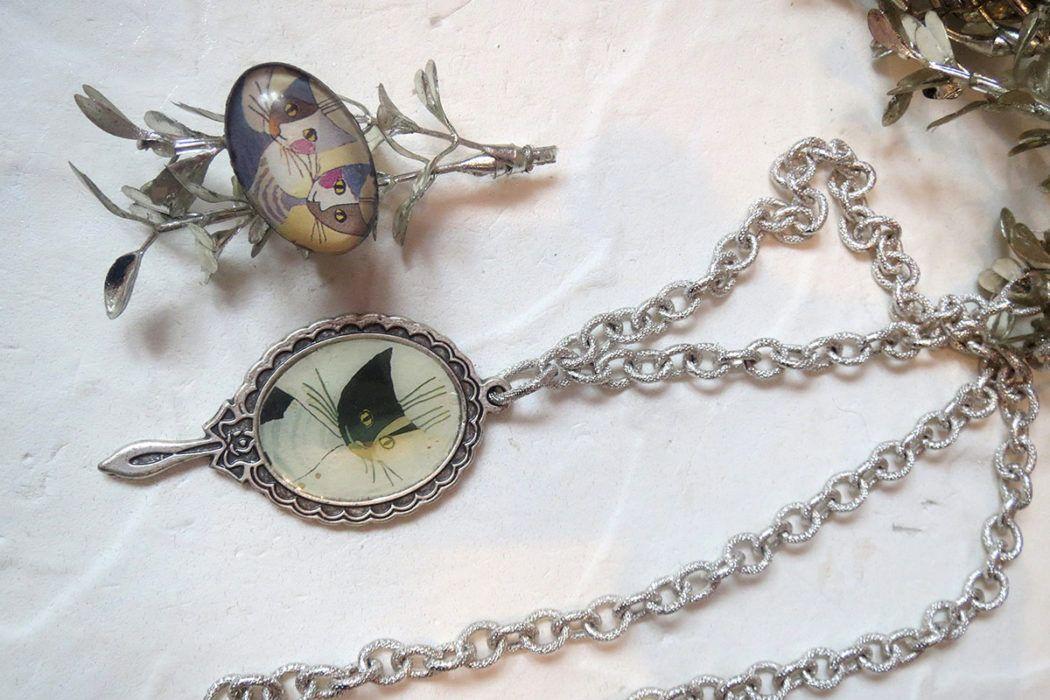 Teja Babnik: Tehnika razpokanja zlatih ali srebrnih lističev na nakitu