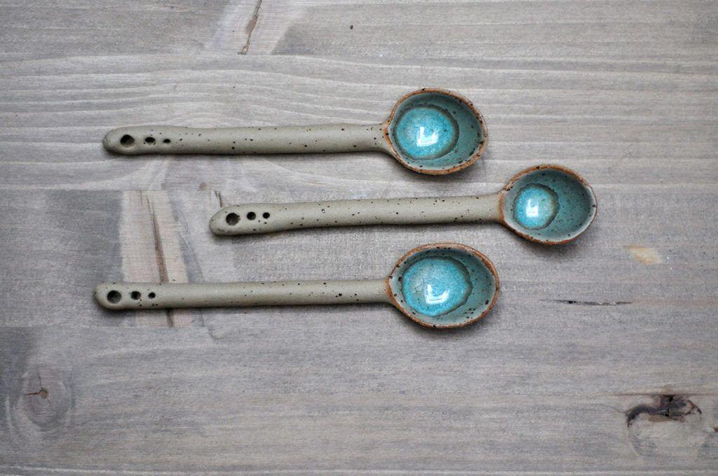 Rustikalne žlice iz gline