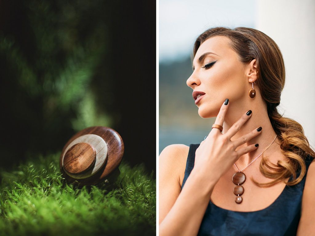 Andrejka Orsag: Lesen nakit in eleganca se lahko dopolnjujeta