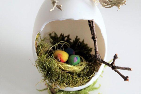 DIY: Okrasna velikonočna jajčka