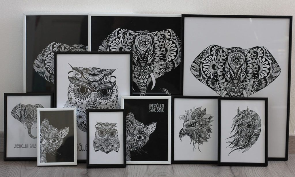 Biljana Janković: Patoo črno-bela kolekcija motivov