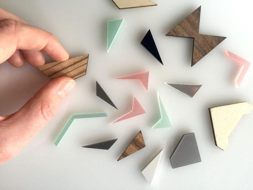 Simona Korošec in Jakob Rožnik: Les, geometrijske oblike in minimalizem
