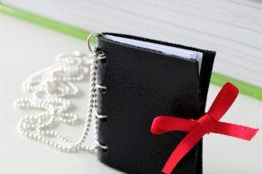 DIY: Knjiga na verižici