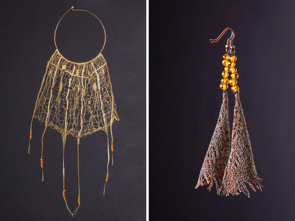 Tanja Kraševec: Zračna čipka prepletena z jantarjem