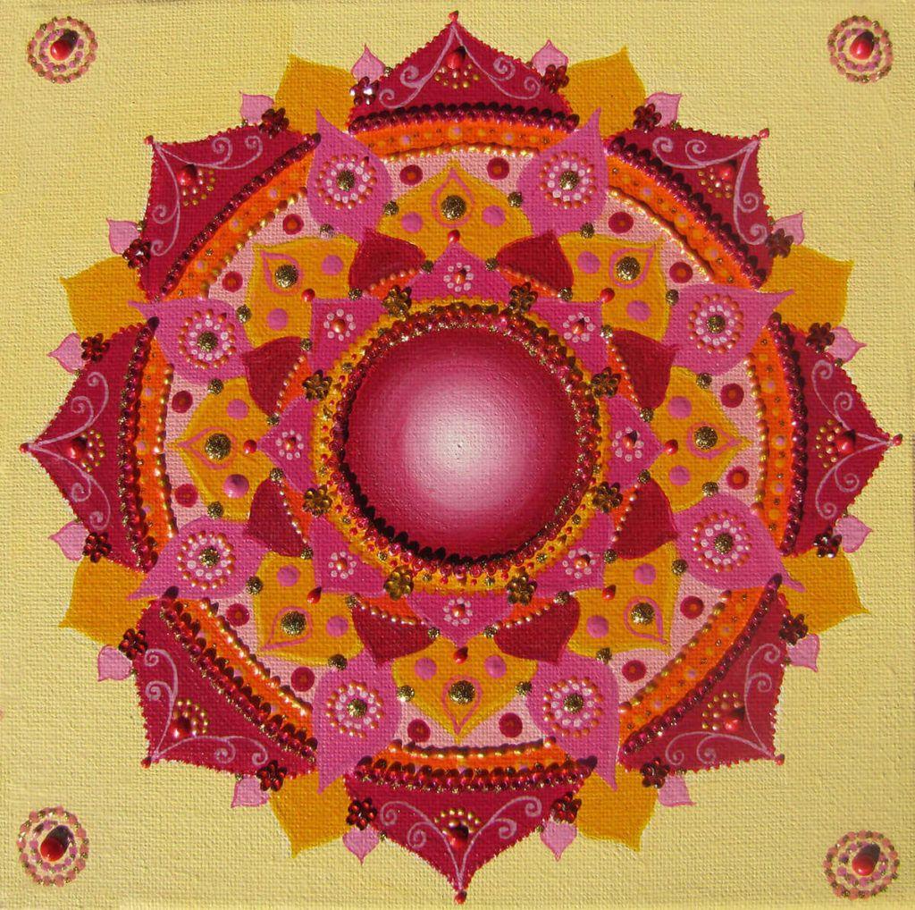 Crystalline Mandala Art