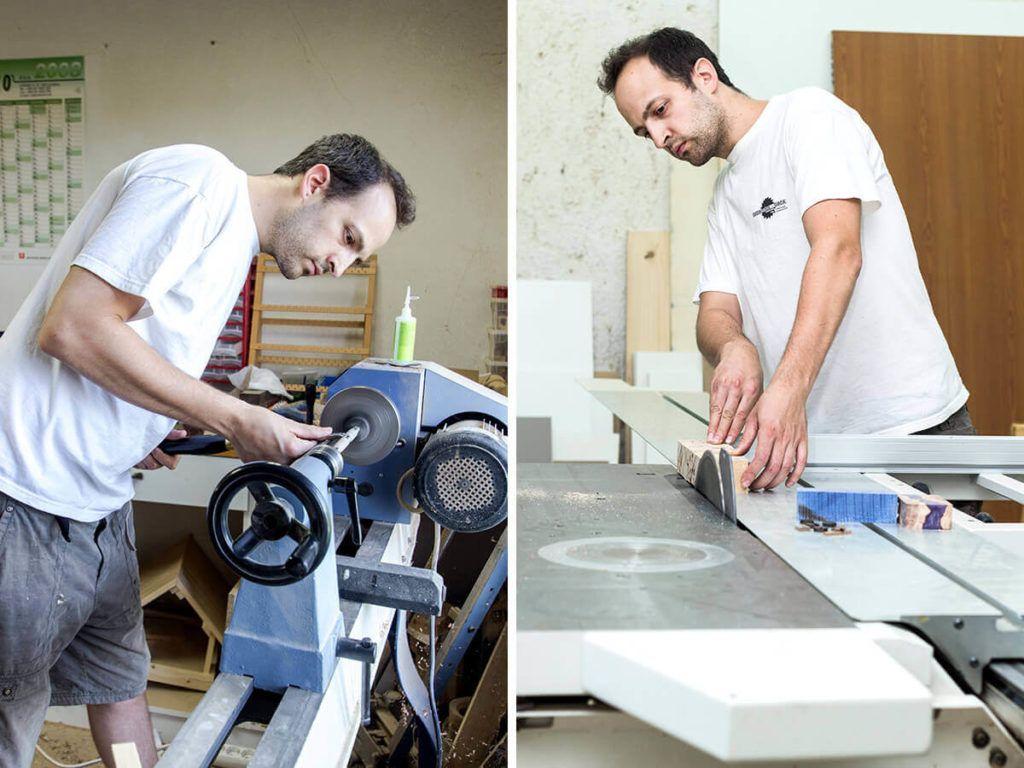 Matej Skubic – Leseni izdelki z moškim umetniškim pridihom