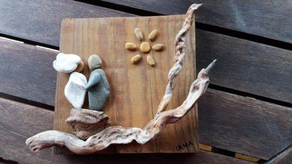Irma Gende: Slike iz kamenčkov so njena strast